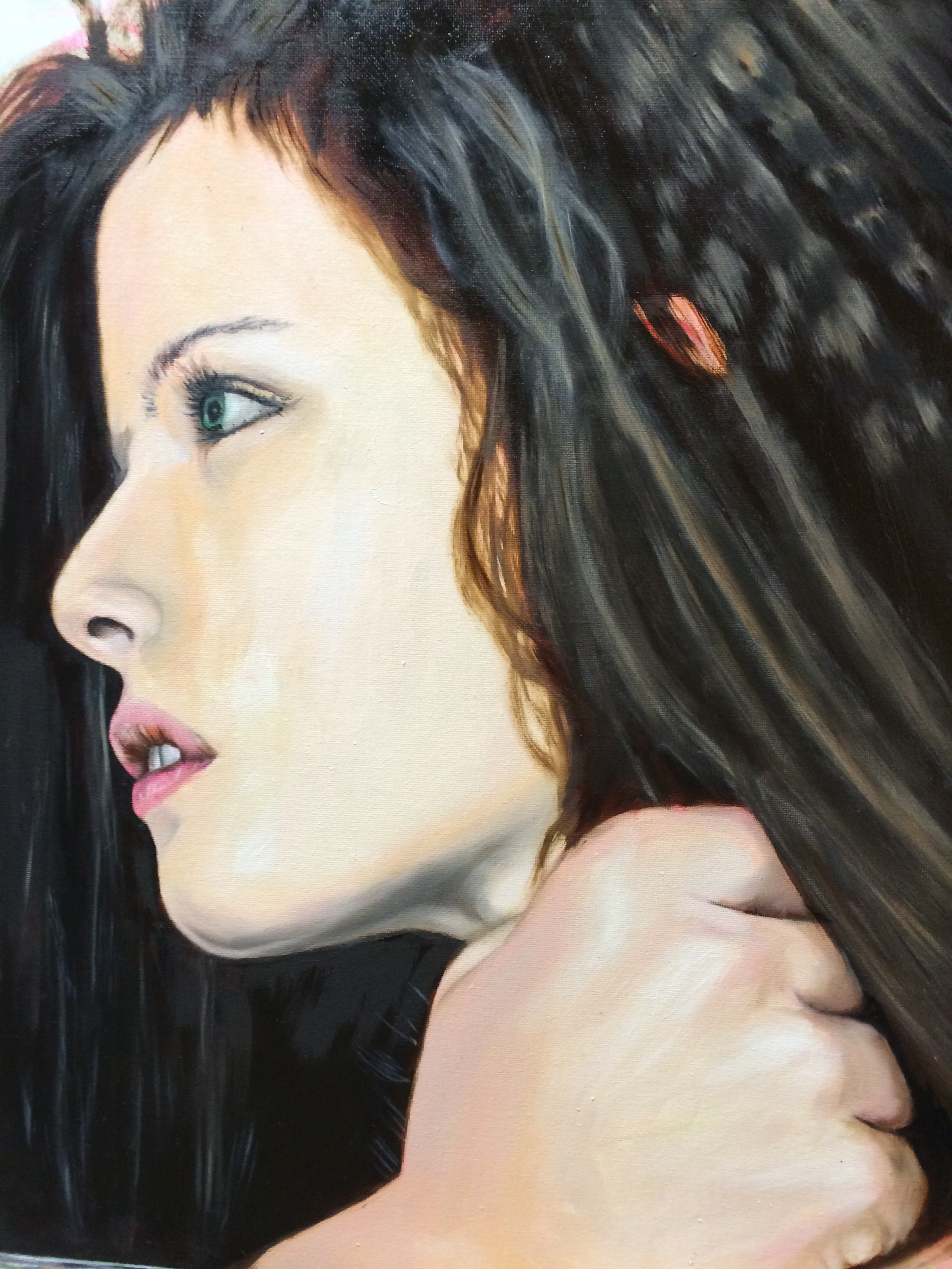 Griff - Oil on canvas 50x80